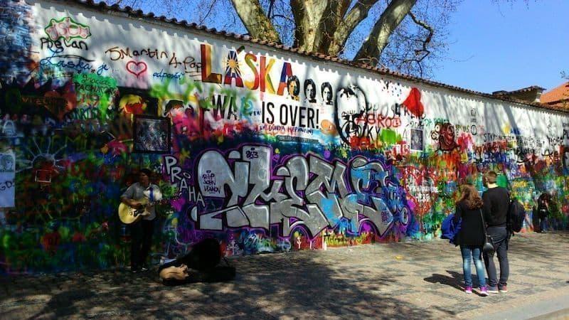 prag John Lennon duvarı