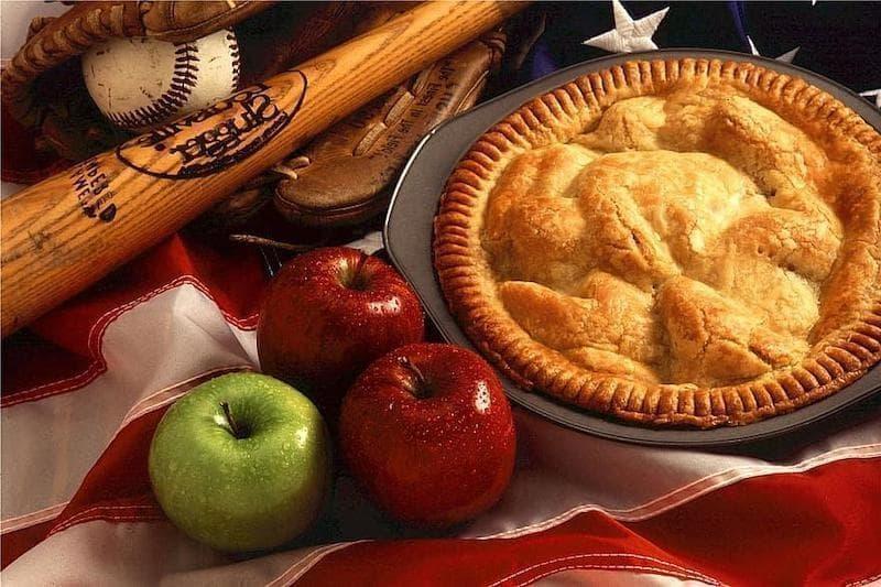amerikan mutfağı elmalı turta