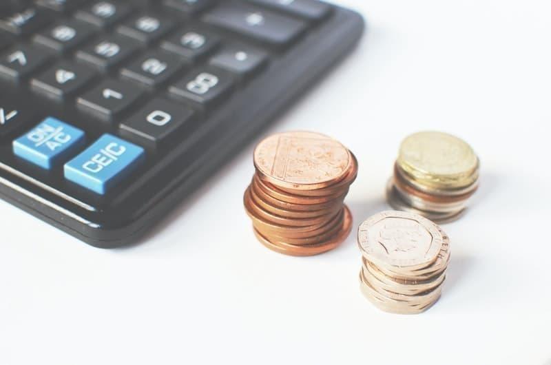 bütçe bozuk para hesap makinesi