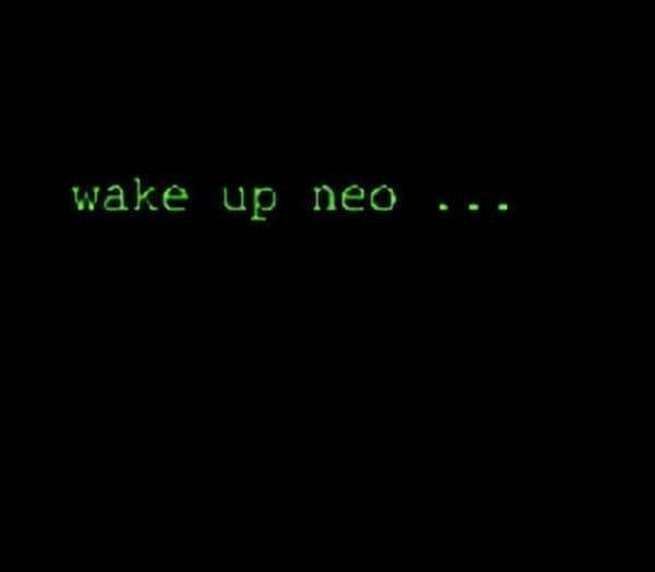 wake up neo