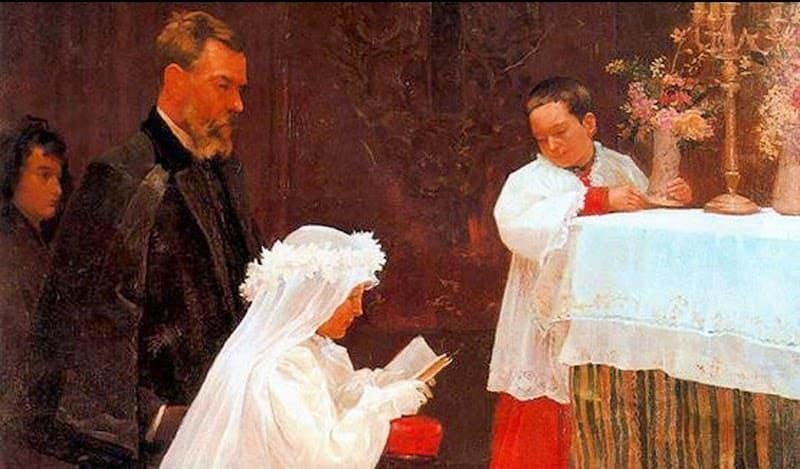 first communion picasso