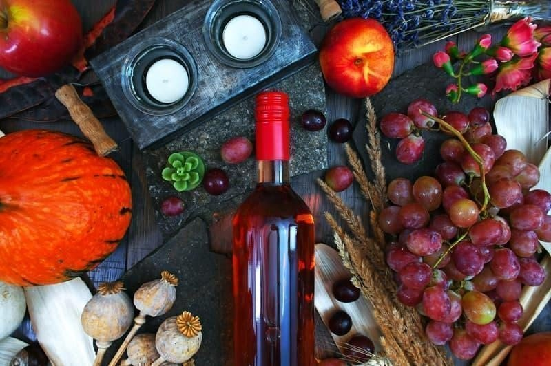 meyve şarabı