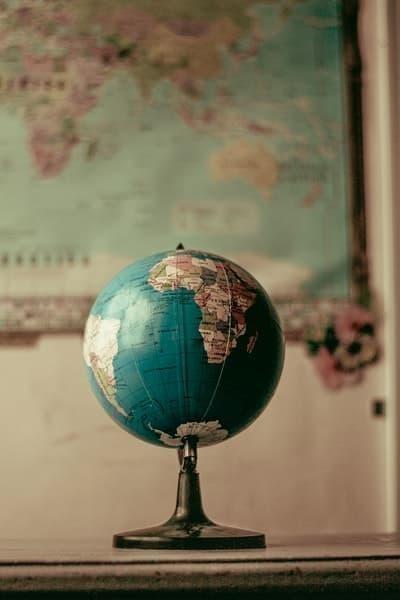 afrika kıtası harita dünya