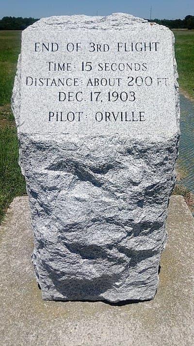 3rd_Flight_Marker_at_Wright_Brothers_Memorial