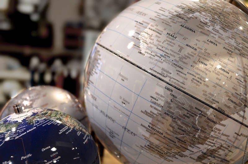 afrika kıtası dünya haritası
