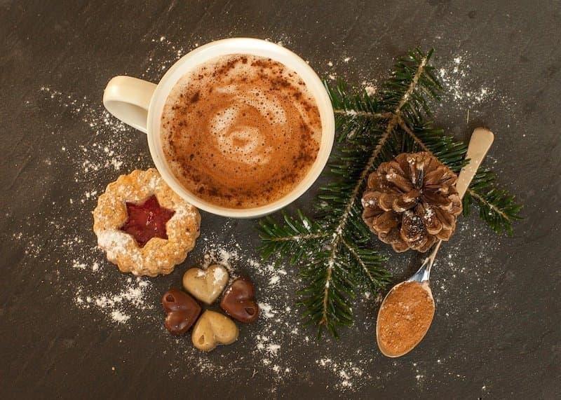 sıcak çikolata kış içecekleri