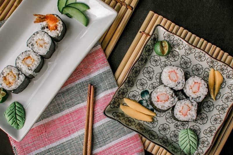 sushi japon mutfağı