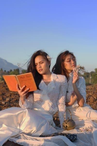 kadınlar doğa okumak kitap