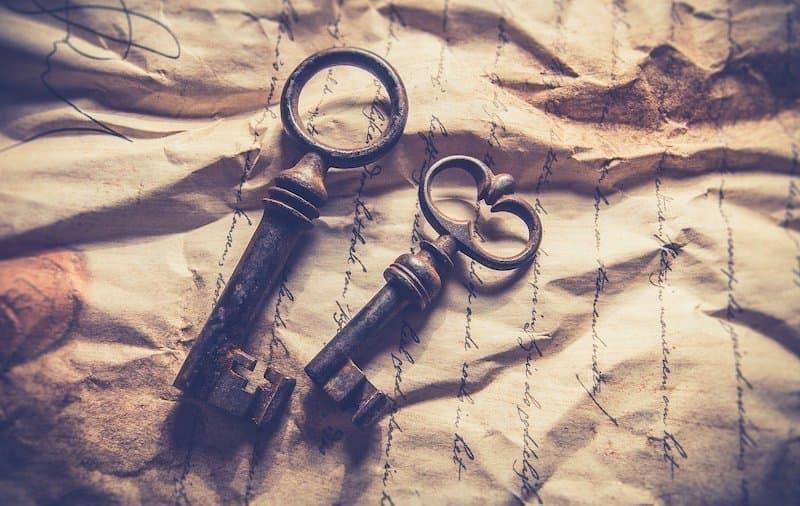 eski anahtar