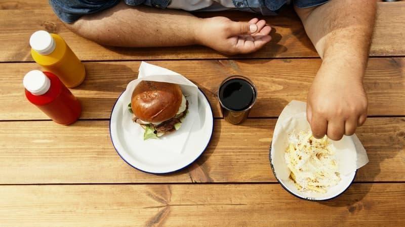 şişmanlık rast food hamburger