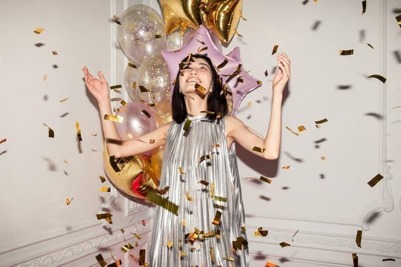 yeni yıl kadın