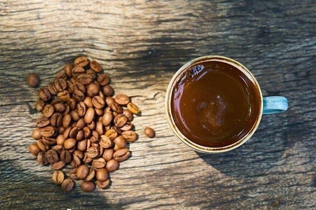türk kahvesi sunum
