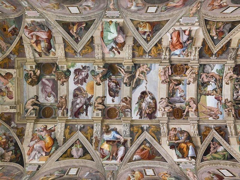 Sistine Şapeli, Vatikan Sarayı, Vatikan, 1508 – 1512