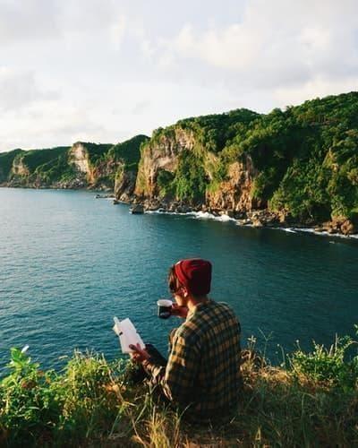 doğa kitap okumak