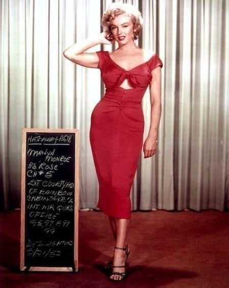 marilyn monroe moda ikonu