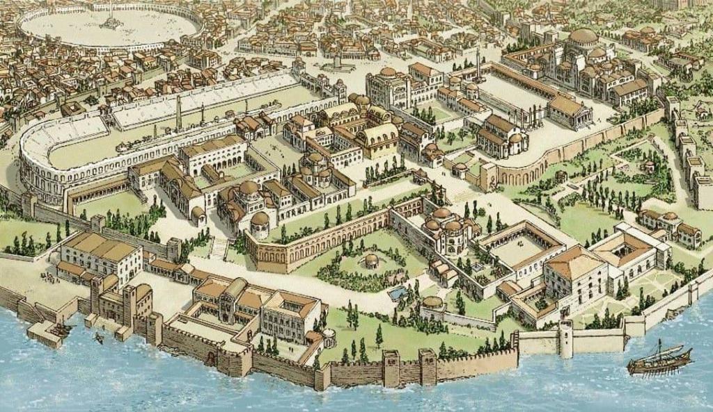 Konstantinopol, Justinian Dönemi