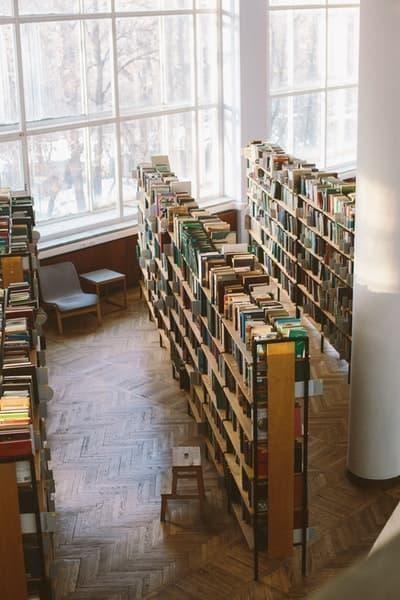 kütüphane kitaplık kitap seçmek