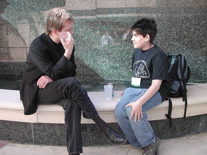 Lawrence Lessig & Aaron Swartz
