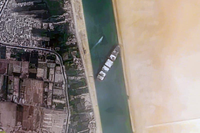 Süveyş Kanalı Ever Given Gemisi