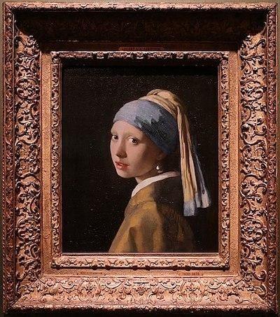inci küpeli kız johannes vermeer