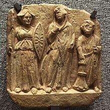 Nemesis_Allat_and_dedicater-MBA_Lyon arap paganizmi