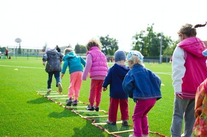 çocuklar oyun egzersiz