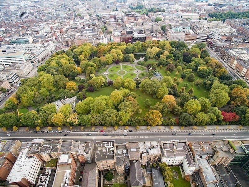 St. Stephen's Green Park