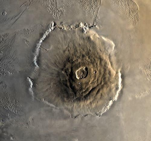 Olympos Mons Mars