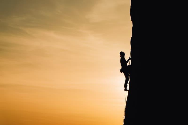 çaba dağ tırmanış