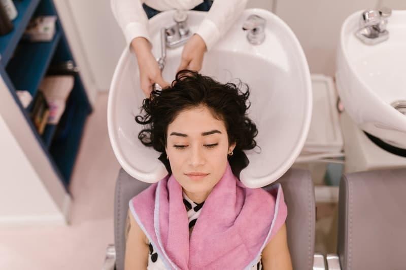 saç bakımı saç yıkama