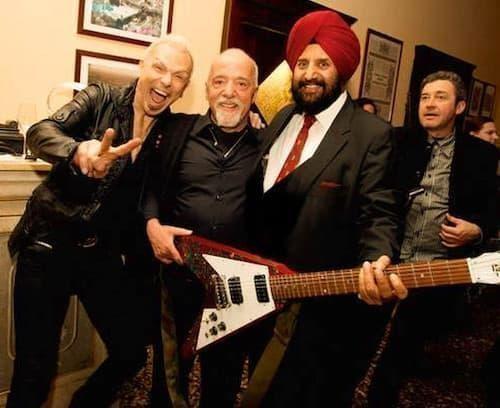 Rudolf Schenker, Paulo Coelho & Satjiv Chahil, İtalya, Nisan 2012