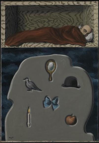 rene magritte the reckless sleeper