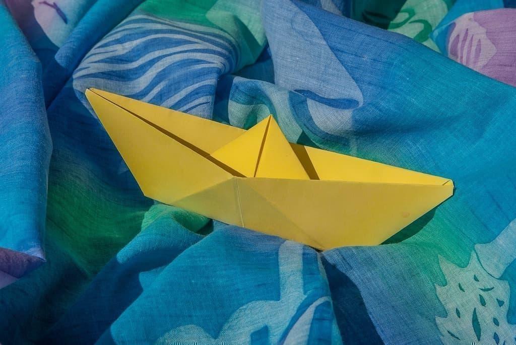 origami gemi