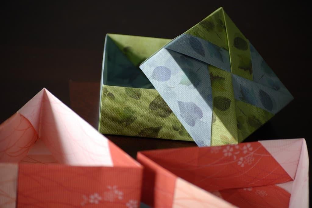 origami hediye kutusu