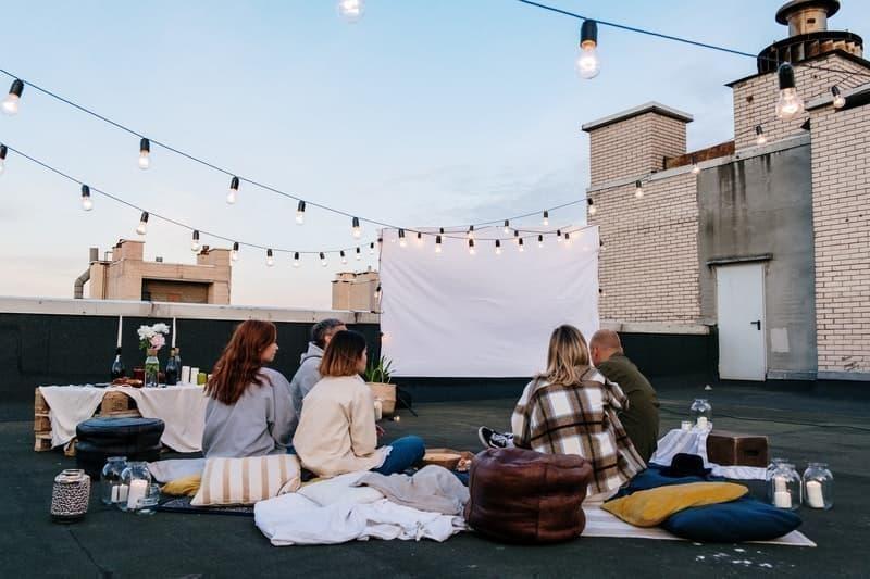 açık hava sineması