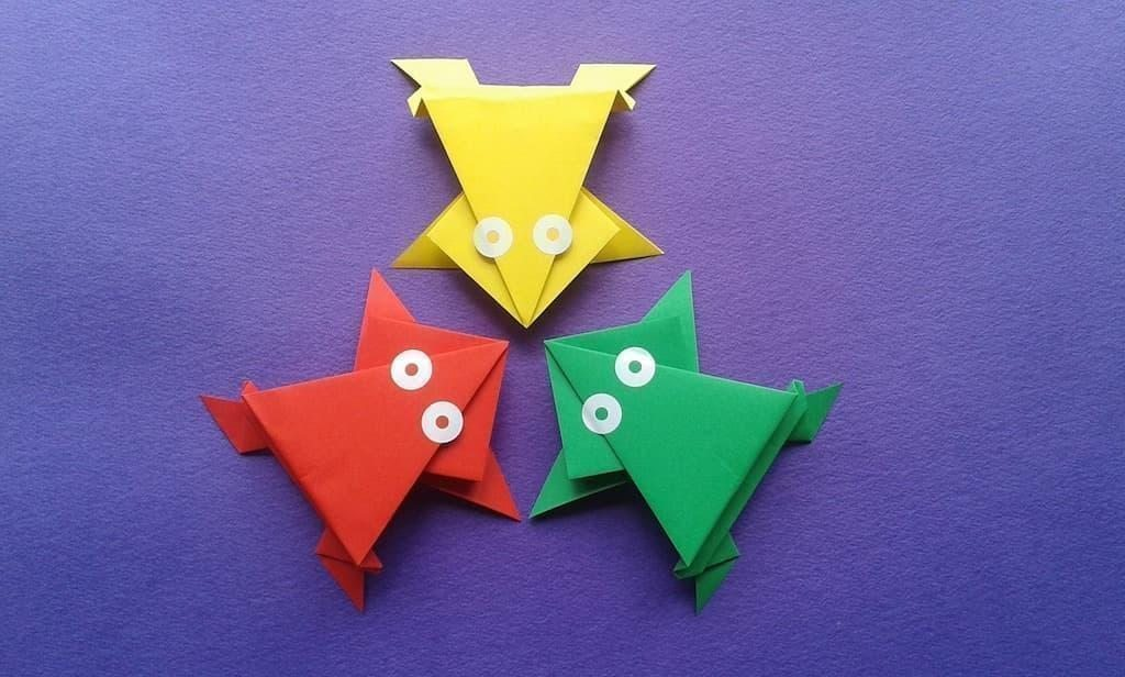 origami kurbağalar