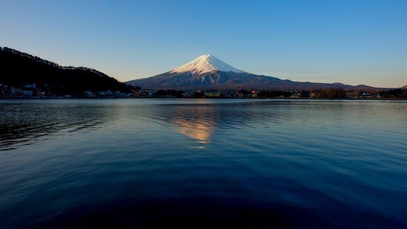 honshu adası fuji dağı