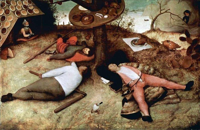 Pieter Bruegel Tembel Ülke