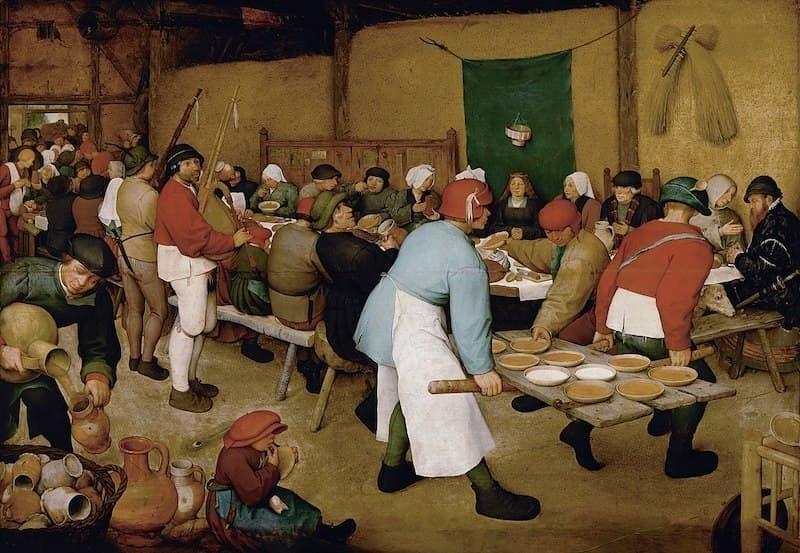 Pieter Bruegel Köylü Düğünü