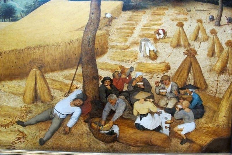 Pieter Bruegel hasat zamanı