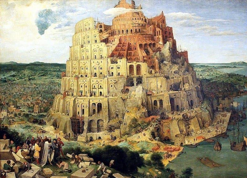 Bruegel babil kulesi