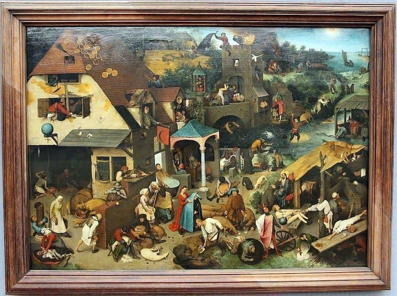 Bruegel flemenk atasözleri