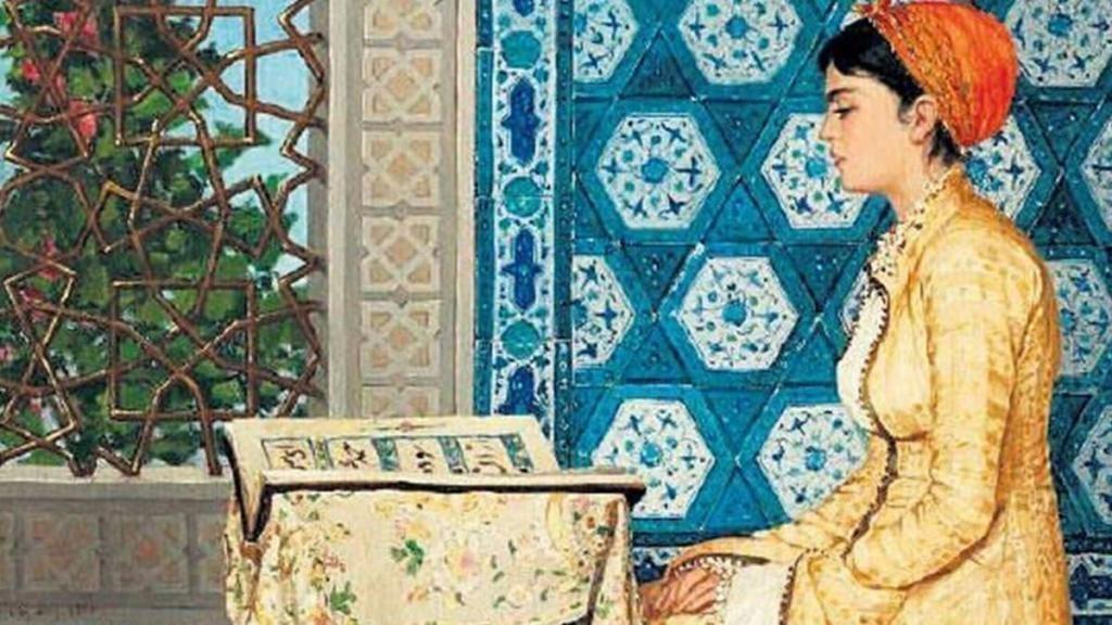 kuran okuyan kadın osman hamdi bey