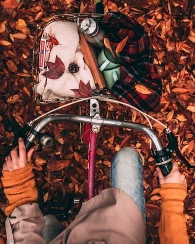 bisiklet sonbahar