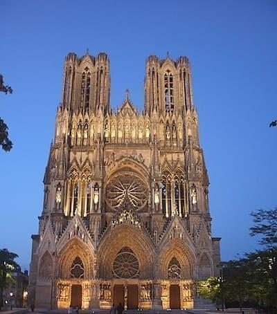 Reims Notre Dame Katedrali